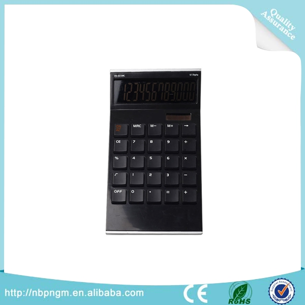Calculator Online Sell Office Stationery Home Essential 12 Digits Sun Power Calculator Battery Supply Power