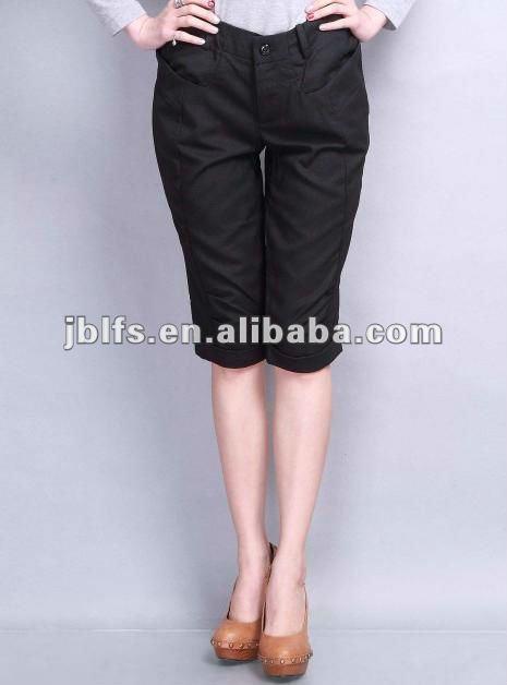 ad094d1f6 Mujeres Slim Fit Pantalones Cortos Hasta La Rodilla - Buy Womens  Shorts