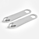Stainless steel multi opener tin can bar blade blank bottle opener