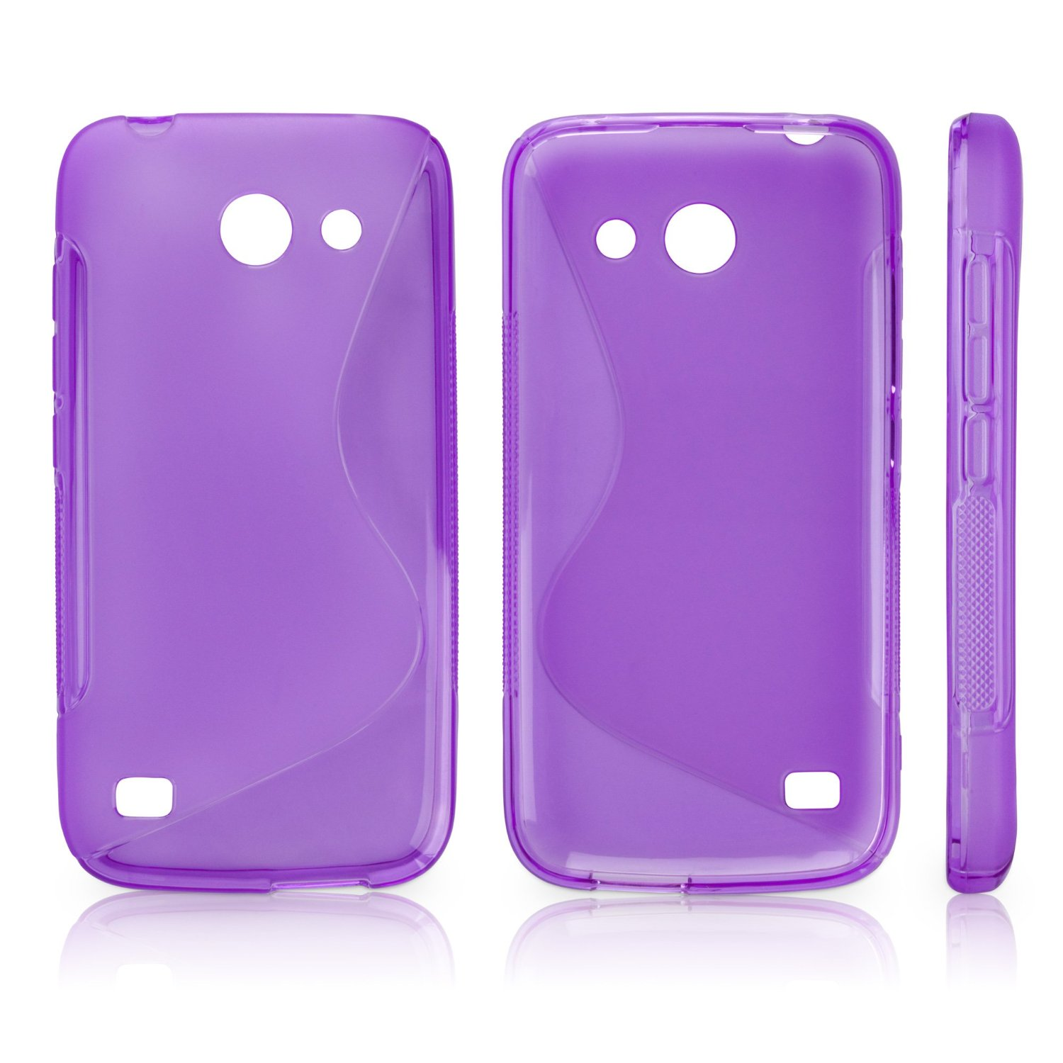 Huawei Ascend Y536 Case, BoxWave® [DuoSuit] Ultra Durable TPU Case w/ Shock Absorbing Corners for Huawei Ascend Y536 - Poetic Purple