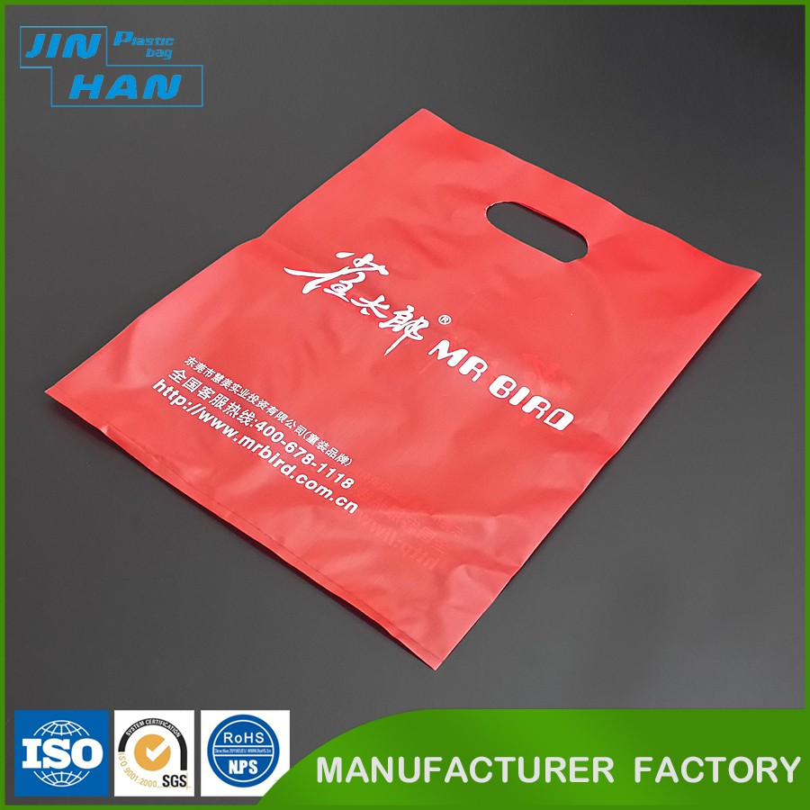 Direct Manufacturer Custom T-shirt Plastic Shopping Bag Printing