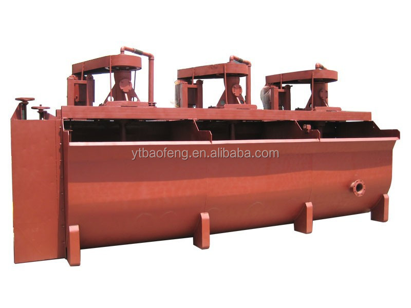 Flotation machine as-mined ore flotation equipment flotation tank machine used in mine sold to30 countries