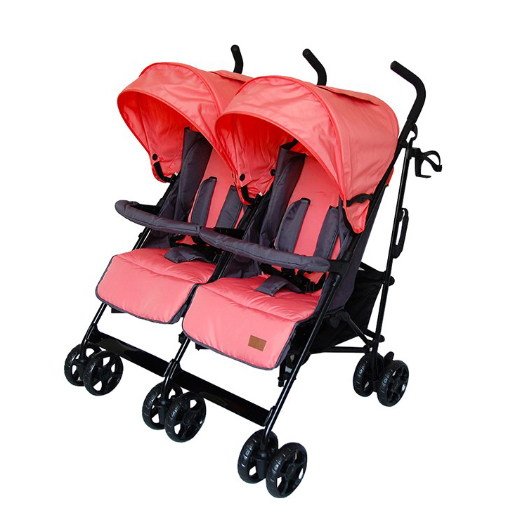 New design Good quality Wonderful twin baby stroller