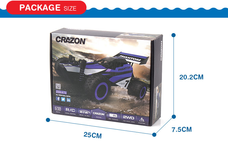 1:32 2.4G two drive full scale remote control stunt car with good contron performance