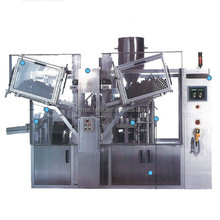 Automatic Plastic tube filling machine with speed 100-120pcs/min