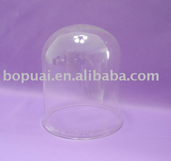 Clear Glass Lamp Shade 123mm diameter
