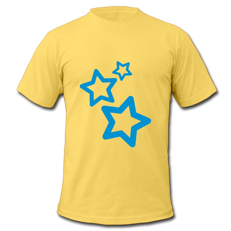 2014 Regular Men T Stars Make Own Shapes Tee Shirts for Man O Neck