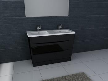 Impermeabile mdf moderno armadi bagno vanità prodotti per la casa