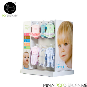 Oem Boutique Cardboard Rack Dividers Shopping Mall Advertising Supermarket Showroom Display Shelf
