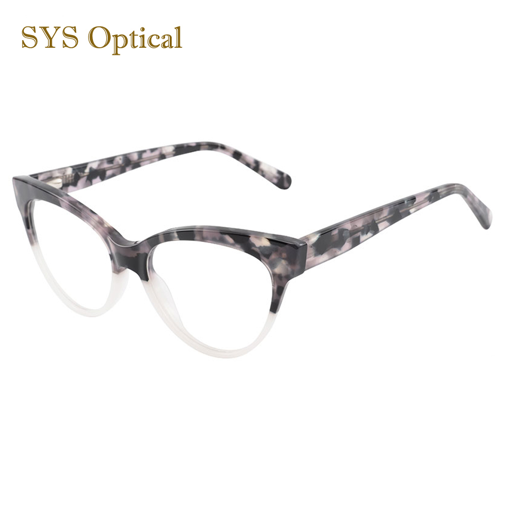 2017 Fashion Two Color Acetate Optical Glasses,Bright Color ...