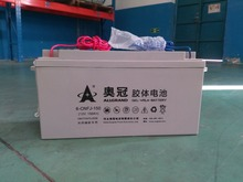 12V 150Ah Rechargeable Free-maintained GEL VRLA PV Battery