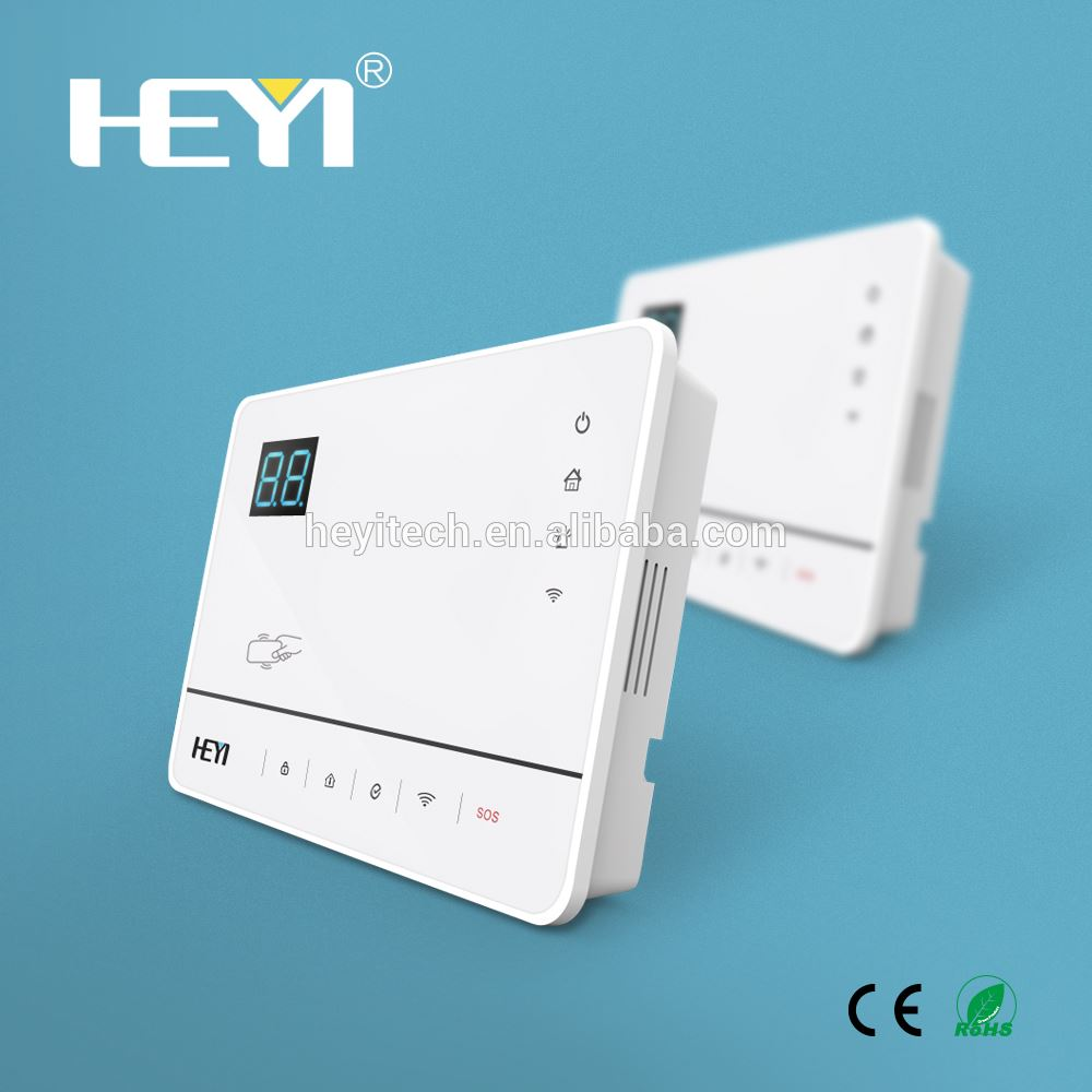 HEYI High tech factory WIFI co detector laser sensor anti-lost lock alarm