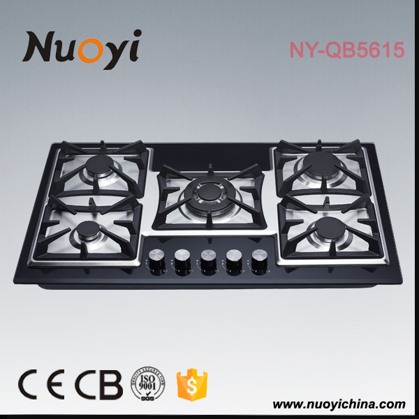 Nuoyi gas burners industrial oven burners/glass ceramic cooker/gas and electric hob