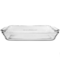 Home Appliances Heat Resistant High Borosilicate Glass Bakeware/baking dish Exported to Worldwide