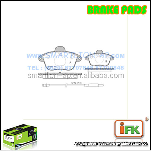 Brake Pad 95659640 For Citroen XM