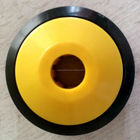 Plastic end caps for conveyor rollers/roller end caps