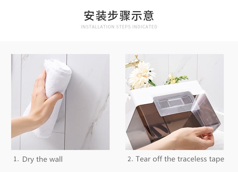 Latest new style facial tissue use,kitchen bathroom tissue holder