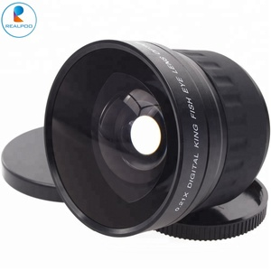 Wholesale 58mm fisheye lens for camera lens