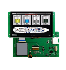 PLC HMI low cost with UI software and controller board
