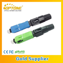 FTTH Cable Fiber Optics Connector Applicable For FTTX fiber optic sc fast connector