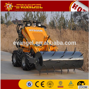 HYSOON CHINA Mini Skid Steer Loader HY380 Front Loader Farm Machinery