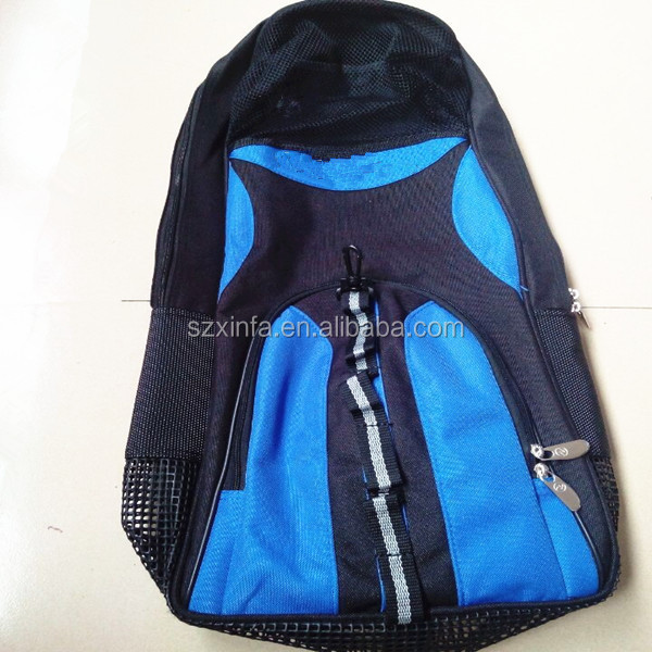 Back bag for travelling camping pack bag,diving & snorkeling backpacks,mesh swim bags