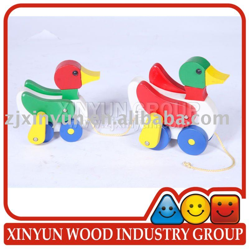 Wooden Toy of Pull Toy- Duck