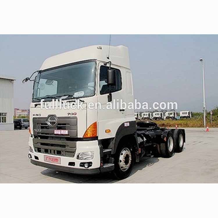 Hino 6*4 380hp Euro 5 International Big Tractor Truck Head For Sale YC4250SS2PK4