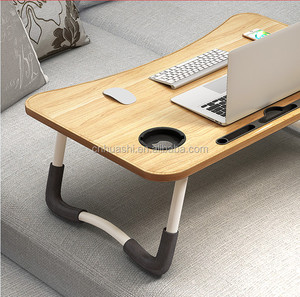 new year promotional gift folding laptop desk study bed table
