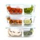 Bento Lunch Box 2 Compartments For Kids, Adults Leakproof, Microwave Safe Container (Fork + Spoon+Knife)