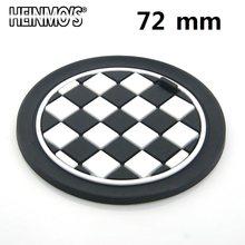 Для MINI Cooper S One Clubman Countryman R50 R53 R55 R56 R60 автомобильные наклейки аксессуары держатель для стакана воды коврик для MINI F56 F54 F60(Китай)