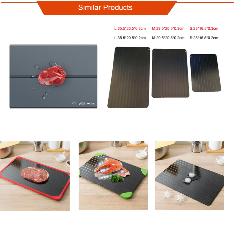High Quality Certificated Fast Defrosting Meat Thawing Tray