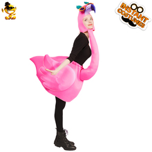 Carnaval Modieuze Pretty Cool Flamingo Kostuum Unisex Jumpsuit Originele Nieuwe Ontwerp Cosplay Animal <span class=keywords><strong>Mascotte</strong></span> Outfits