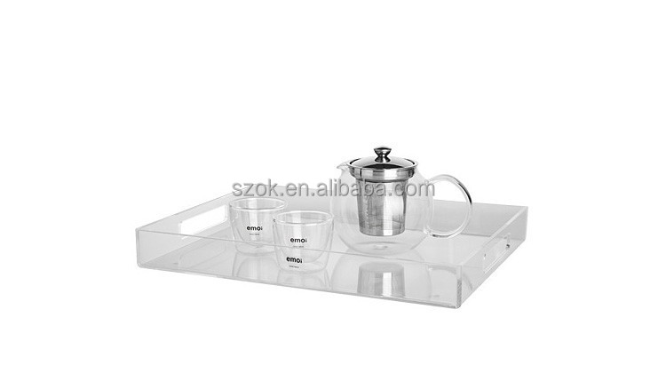 customized acrylic shot glass tray on sale