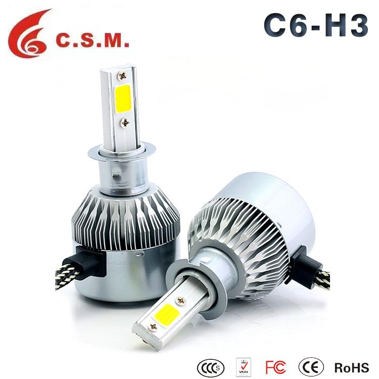 C6 H7 Led Headlight Bulb For Car Wholesale, Bulb Suppliers - Alibaba