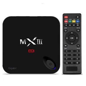 RioRand MX3-G MXIII-G 4K TV Box Streaming Player Amlogic S812 Quad Core1.8GHZ(A9*2) Bluetoot 4.0 + 2GB/8GB KODI TV BOX