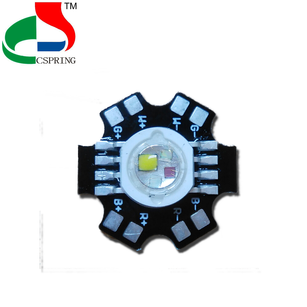 10% discount Taiwan chip high power rgbw led chip 8 pin 10W 12W