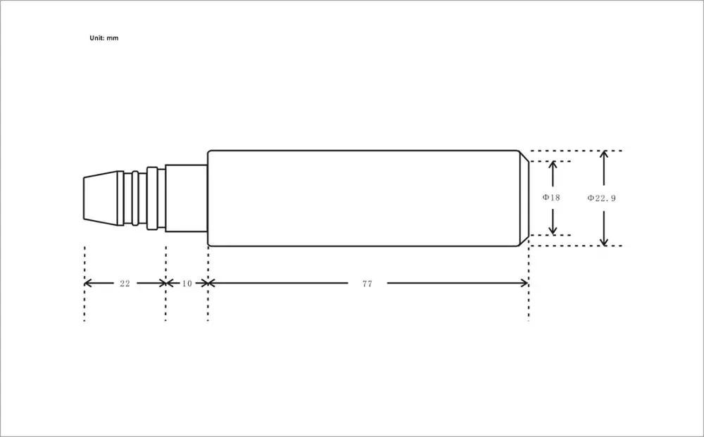 สแตนเลสน้ำดิจิตอล Submersible เซ็นเซอร์ระดับน้ำระดับถัง SENSOR