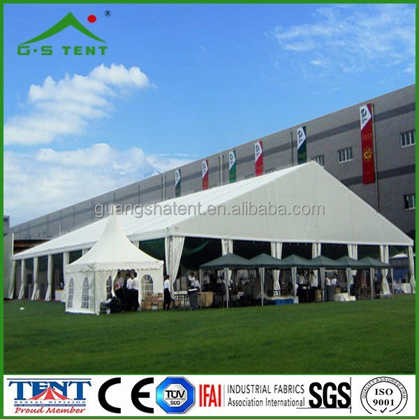 church and trade show aluminium frame large wedding marquee tent
