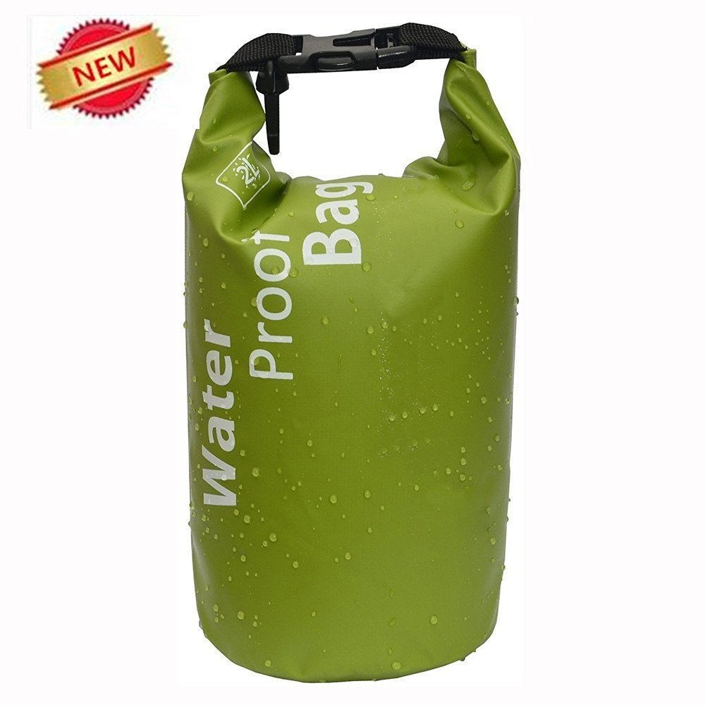 Get Quotations · 2L Portable Waterproof Dry Bag Dry Sack - Christmas Gift  Xmas Dry PVC Bag for Kayaking f8b9e87d83397