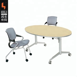 simple and combination round resting room desk office table HD04B1-E
