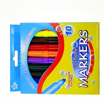 8+1 cololor Magic non-toxic marker,change color watercolor pen set