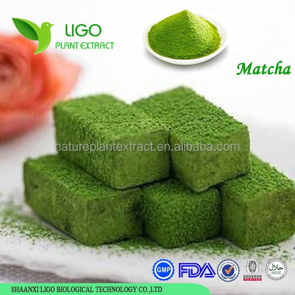 100% pure natural instant powdered green tea matcha private label