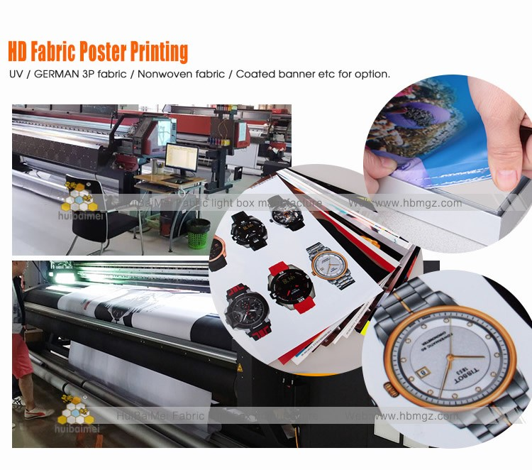 Silicone-edge Fabric Graphics Frame Led Backlit Lightboxes
