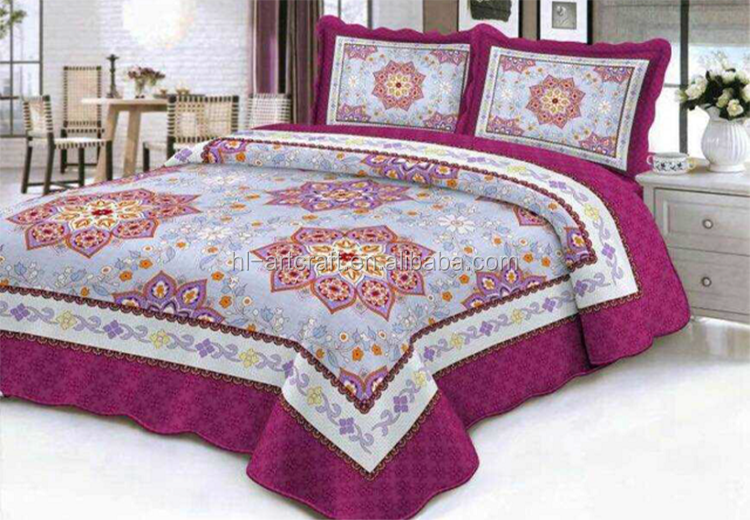 Wholesale Patchwork Craft Indian Style Hand Applique Bedsheet ...