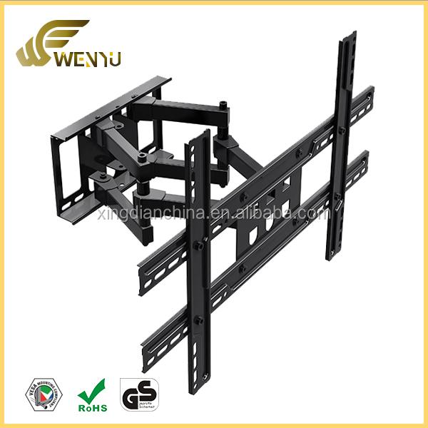 60 degree wall mount angle bracket flat panel tv wall mount tv bracket for lcd led