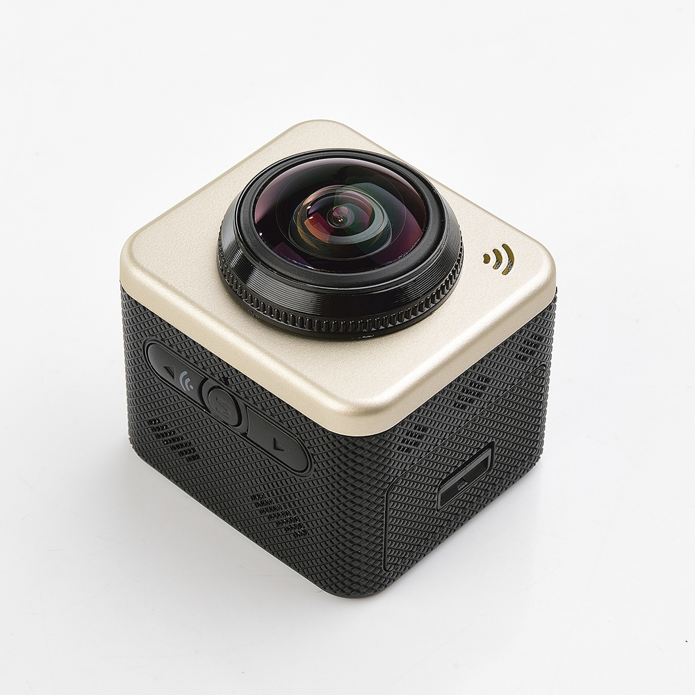 Original Cube 360S Sport Action Camera 1080P Full HD Waterproof Camcorders Fashion Sytle Camera With WiFi