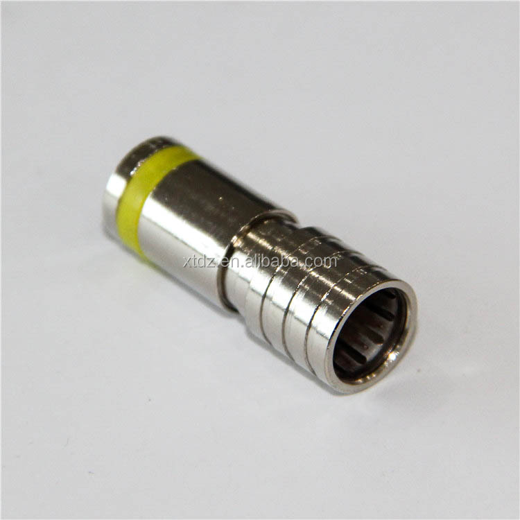 Hot Sale Waterproof RG11 RG58 RG59 RG6 F male twist on crimp connector