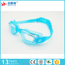 Newly china suppliers kids funny waterproof swimming goggles