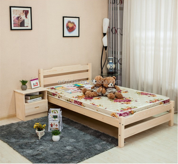 solid wood child single bed bedroom simple modern single bed childrens bed